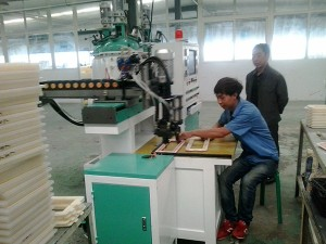 Car Air Filter Gasket Pad Casting Machine