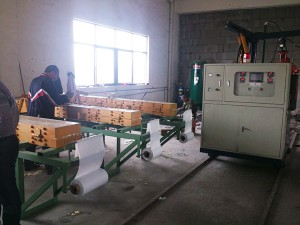 PU Wood Imitation Cornice Crown Molding Machine