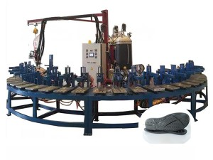 Polyurethane Soft Foam Shoe Sole&Insole Foaming Machine