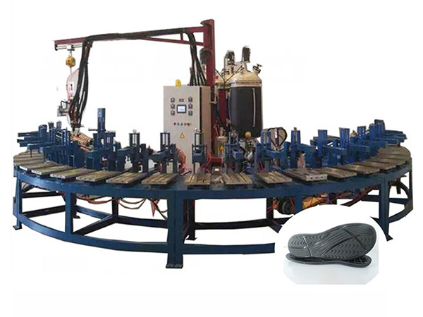 Polyurethane Soft Foam Shoe Sole&Insole Foaming Machine Featured Image