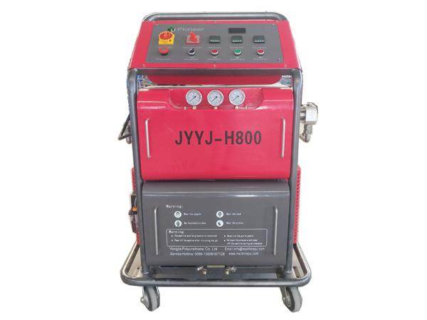 Polyurethane PU Foam JYYJ-H800 Floor Coating Machine Featured Image