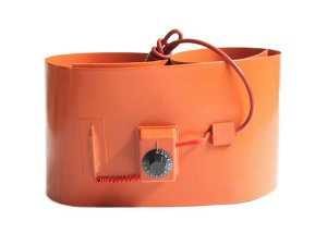 Electric Silicone Rubber Flexible Oil Drum Heater for Heating