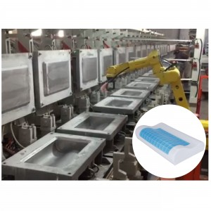Automatic PU Foam Injection Molding Machine for Memory Foam Pillows