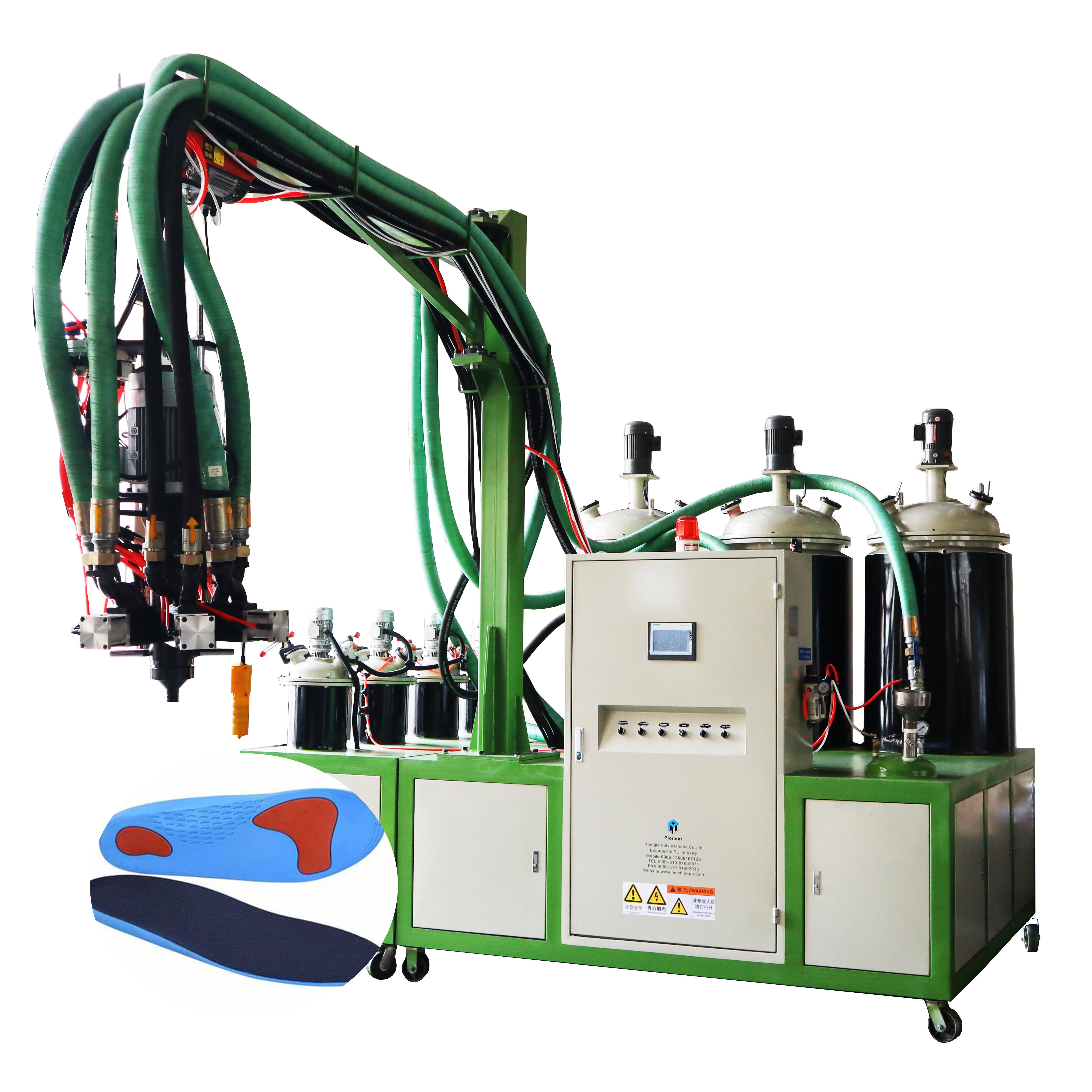 Three Components Polyurethane Foam Dosing Machine Featured Image